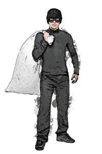 Burglar sketch